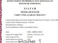 Download Aplikasi Cetak Nilai Ijazah Format Sesuai Juknis 2017
