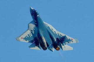 Jet Tempur Rusia Su-57
