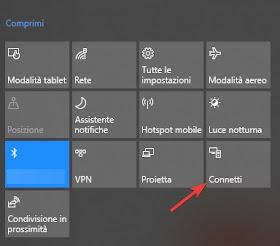 Connetti su Windows 10