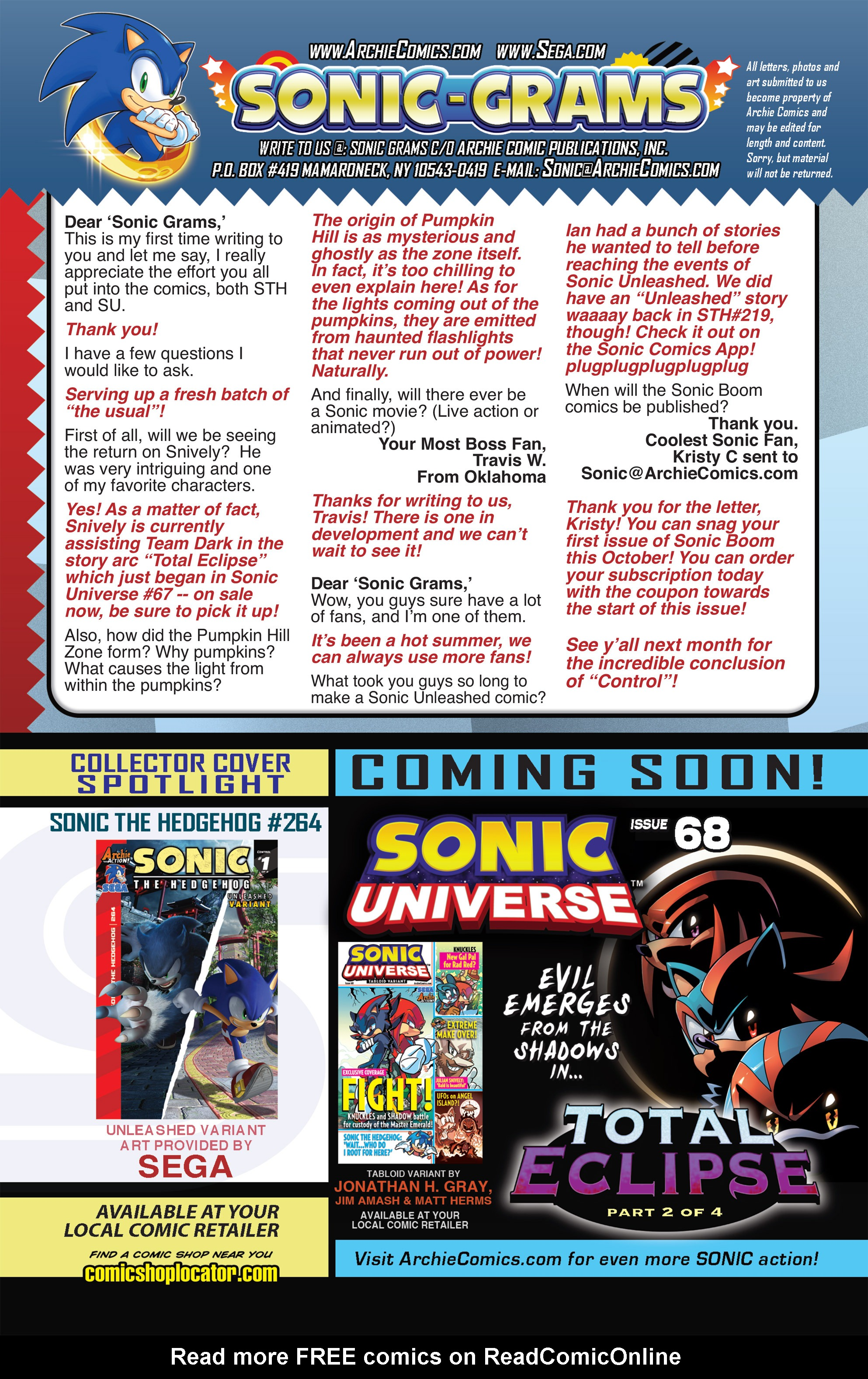 Read online Sonic The Hedgehog comic -  Issue #264 - 24