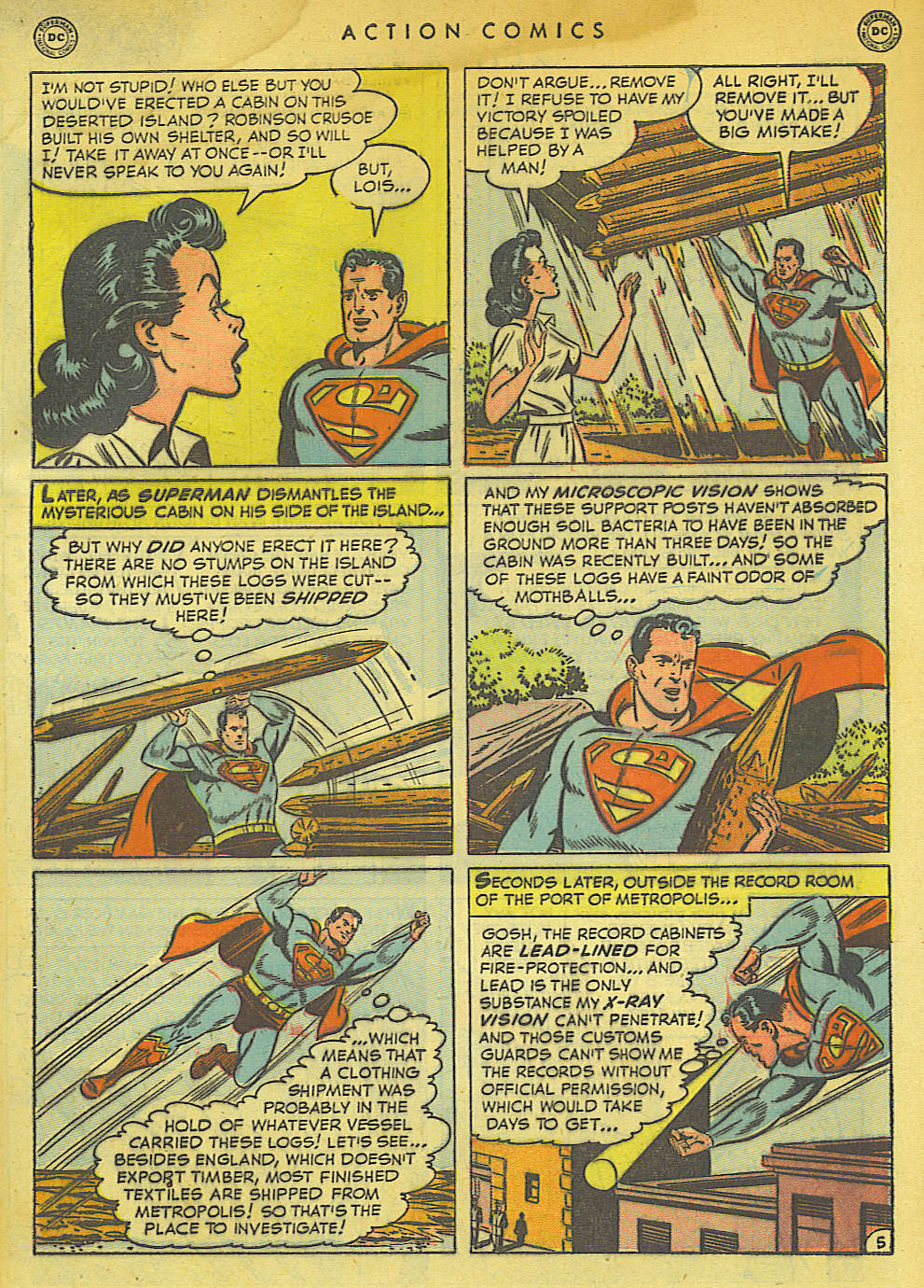 Action Comics (1938) 154 Page 6