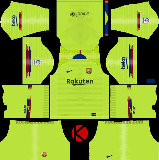 37da98687fb4 Dream League Soccer Kits Barcelona 2018-19 Kit   Logo