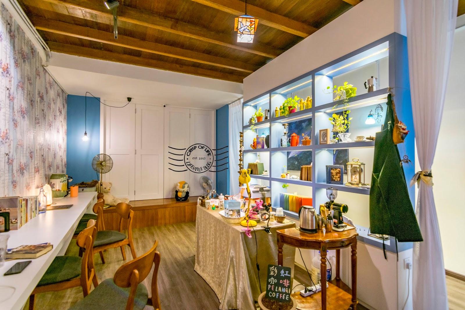 The Blue Vegan Restaurant - A Western Asian Fusion Vegan Restaurant @ Lebuh Tye Sin, Georgetown, Penang