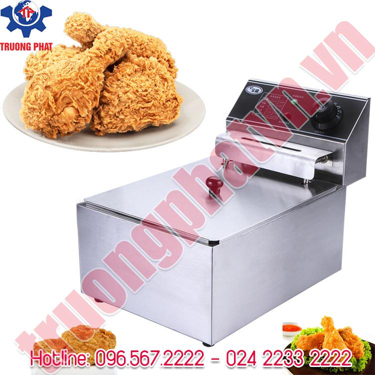 Địa chỉ bán bếp chiên gà rán giá rẻ ở Hà nội
