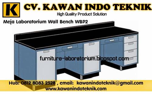 Meja Laboratorium Wall Bench WBP2