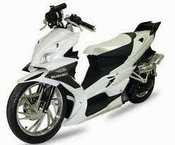 Modifikasi Suzuki Spin Terunik