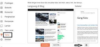 mengatur tampilan website
