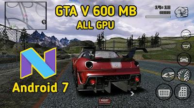 تحميل لعبة GTA V LITE للاندرويد بحجم صغير جدا 600 ميجا فقط| Works On Nougat