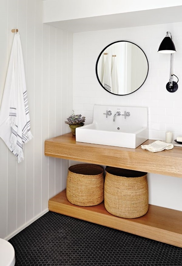Wooden Bathroom Furniture Comes Back 11