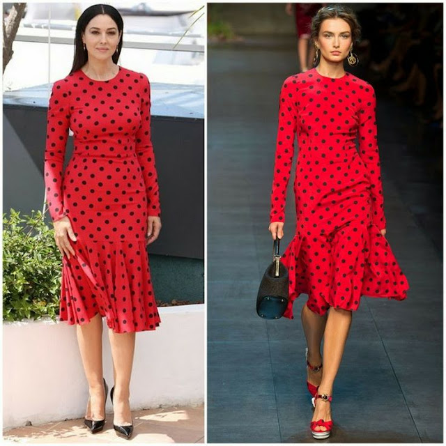 Cannes Film Festival Photocall - Monica Bellucci in Dolce and Gabbana La Meraviglie