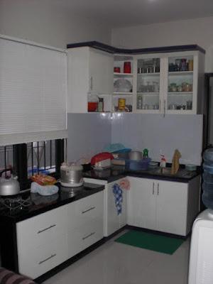 desain dapur minimalis sederhana rumah type 36
