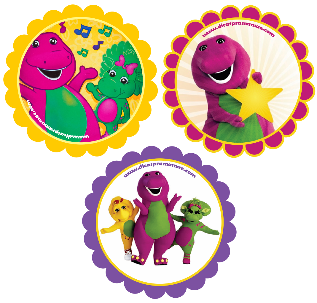 Barney And Friends Cake Decorations