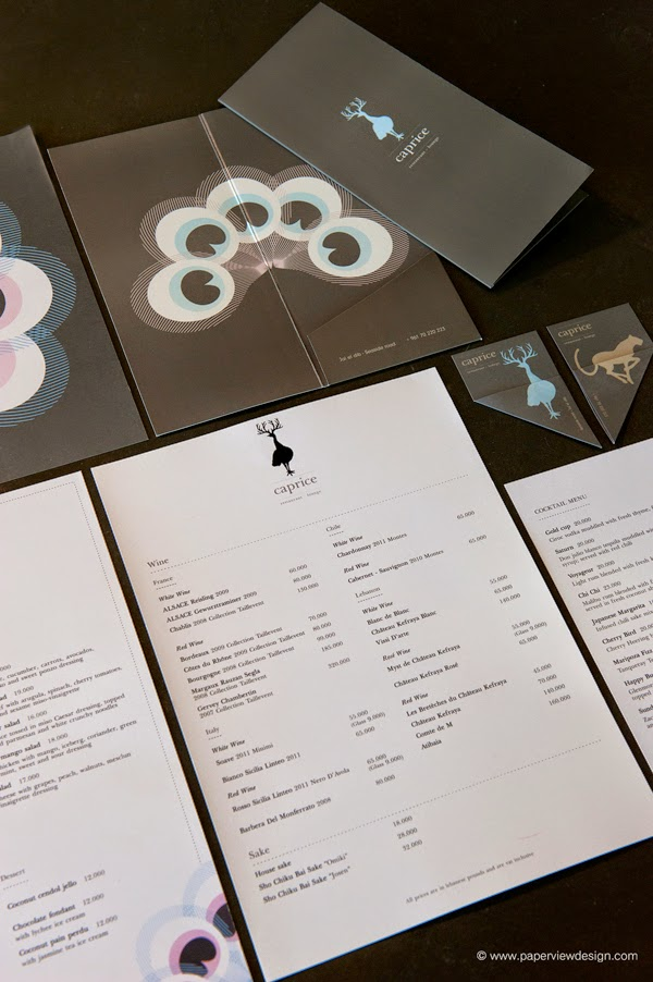 This is how you design a menu for the Lebanese & Middle Eastern market - Caprice by Paperview Design
