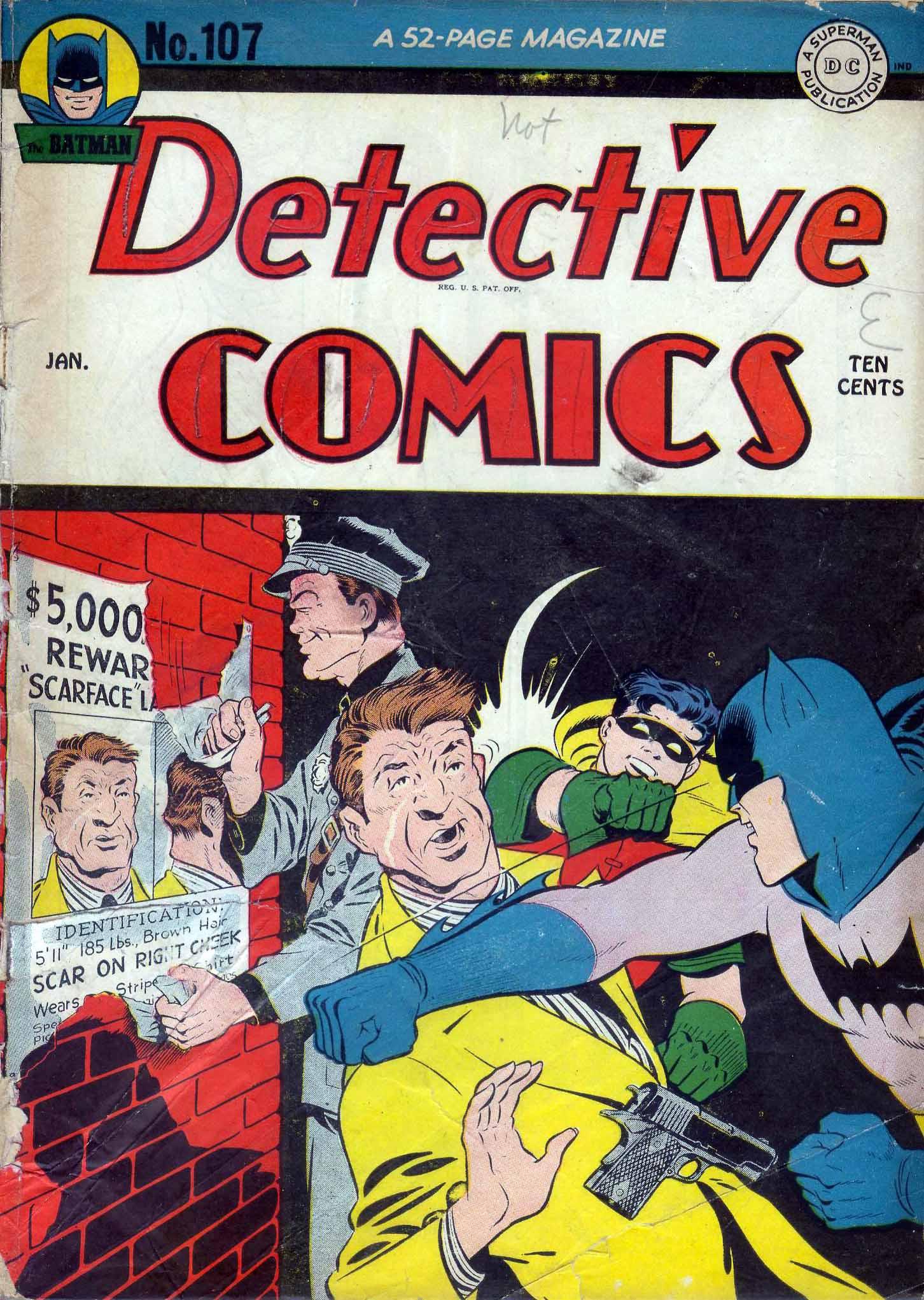 Detective Comics (1937) 107 Page 0