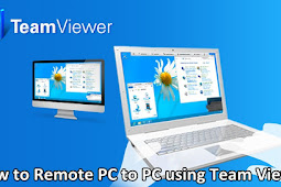 How to Remote PC to PC using Team Viewer