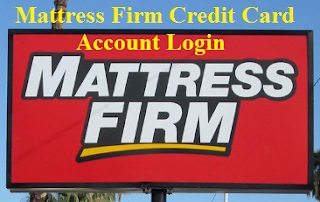 Mattress Firm Credit Card Login
