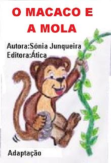 Livro o macaco e a mola