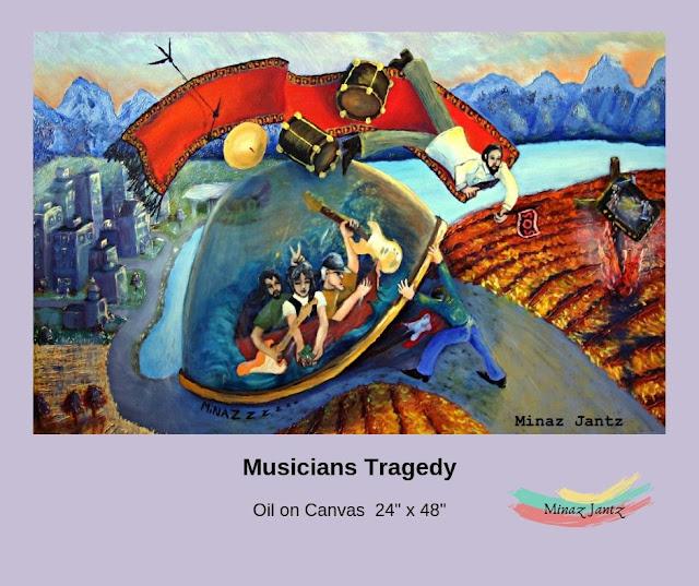 Musicians Tragedy by Minaz Jantz
