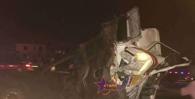 Photos: Seven injured in multiple-car crash at Okponglo