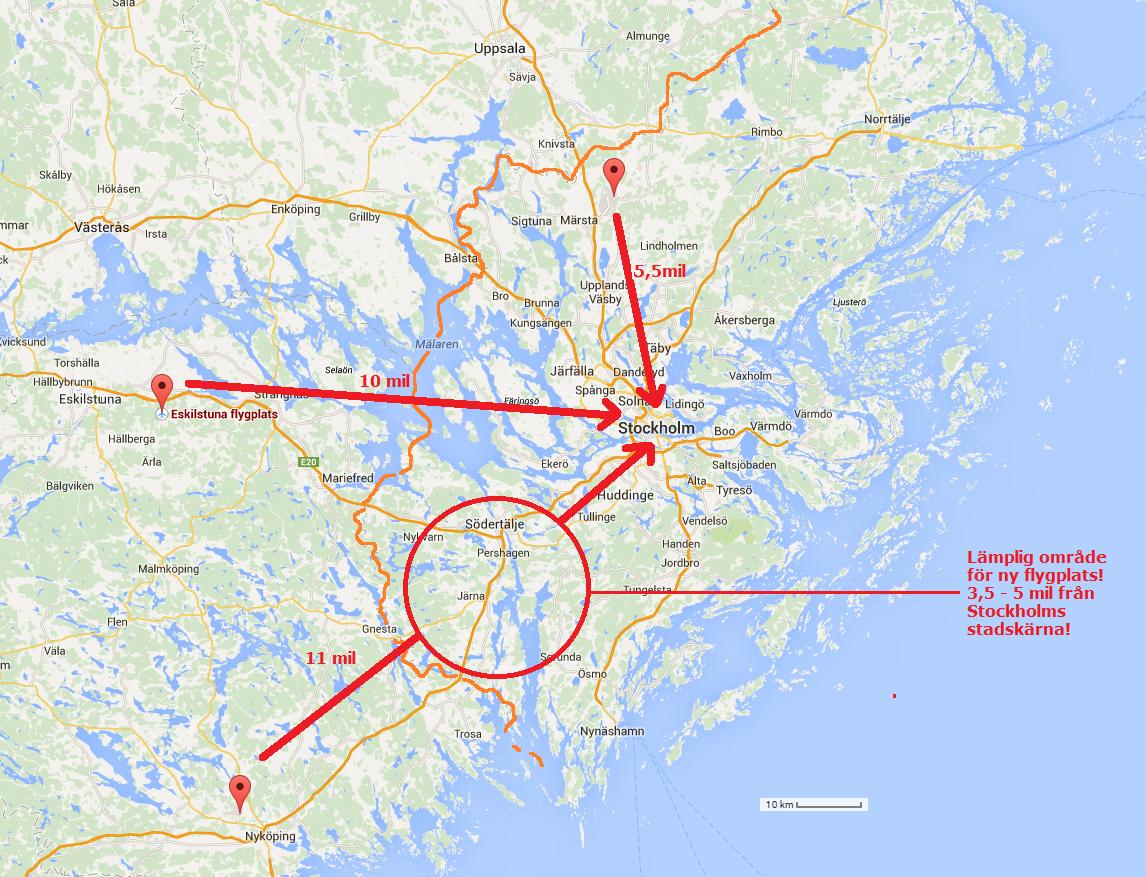 Karta Arlanda Inrikes.Stadsutvecklingen Saurons Oga Overvakar Hoghusplaner I Stockholm