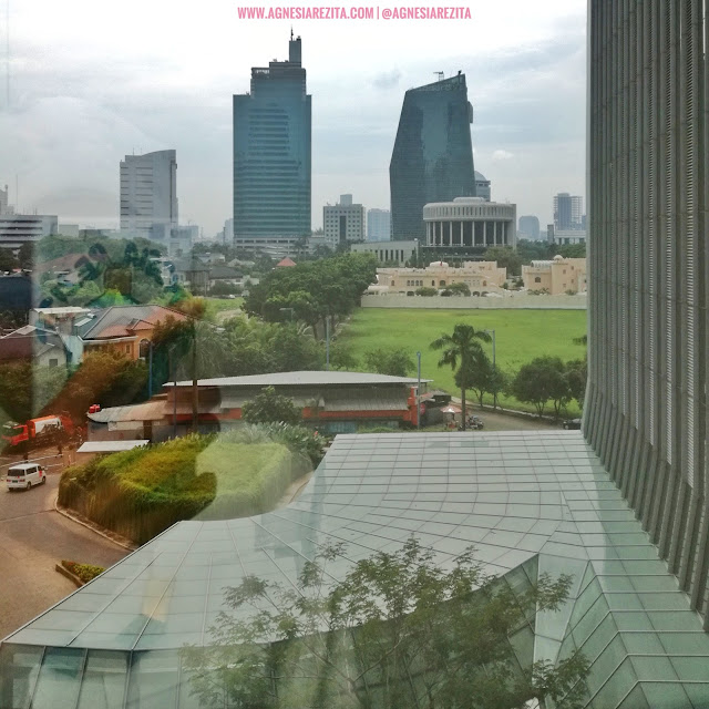 View dari Lantai 3 Fat Shogun Jakarta