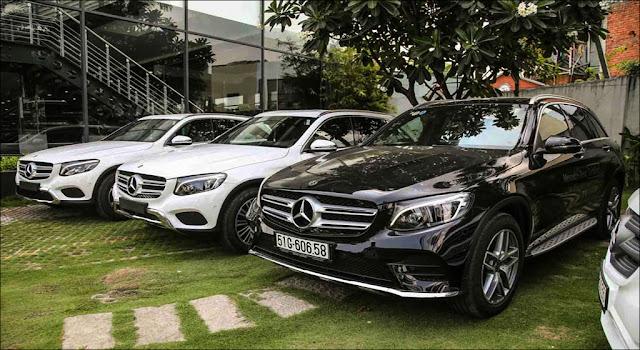 Bộ ba Mercedes GLC 200, Mercedes GLC 250 4MATIC và Mercedes GLC 300 4MATIC đều tăng giá