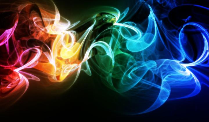 3 boyutlu duman resimleri