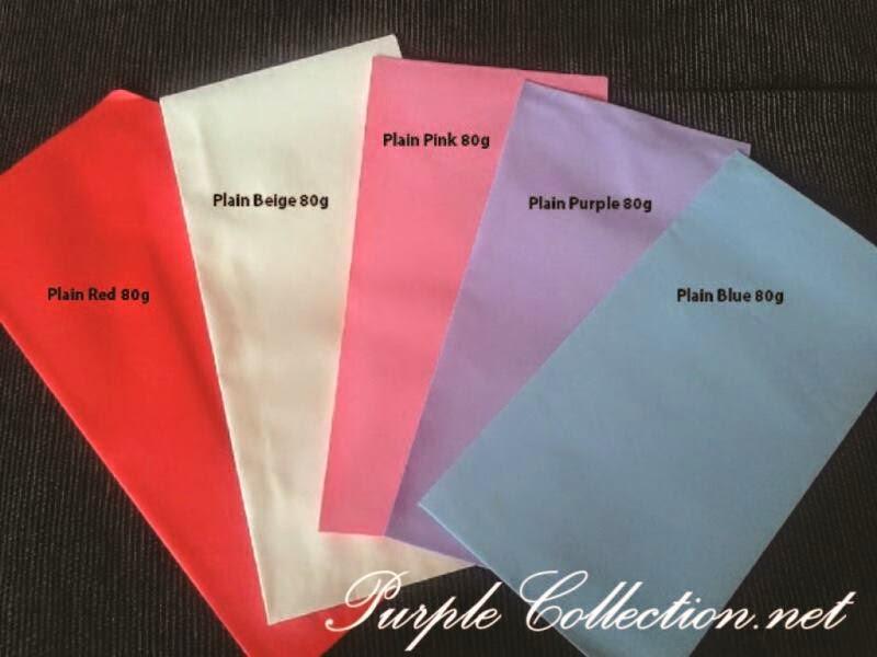 envelope 80g, red, beige, light pink, light purple, light blue, malaysia, kuala lumpur, custom design, print, cetak, kad kahwin