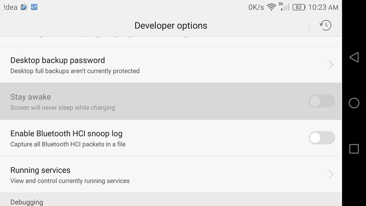 android me developer options ka better use kaise kare tips and screen will never sleep while charging
