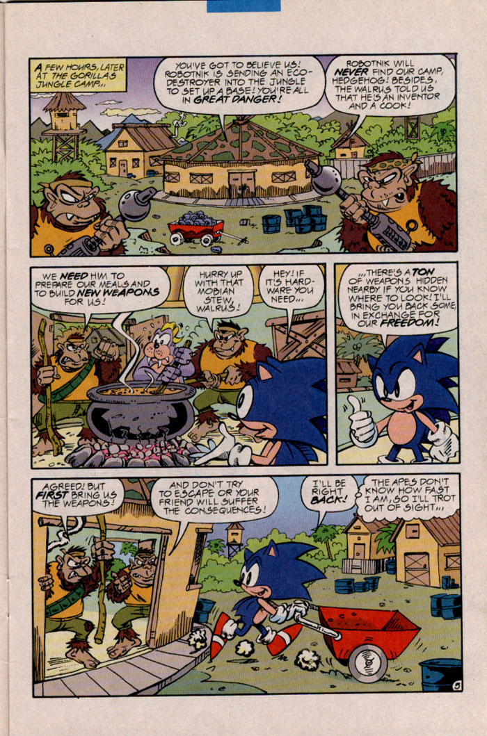 Read online Sonic The Hedgehog comic -  Issue #45 - 6