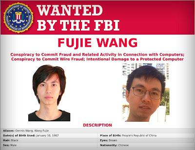 Le ministère de la Justice accuse un pirate chinois