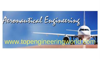 List of Aeronautical Engineering Universities