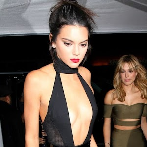 Kendall Jenner celebrates birthday with generous cleavage