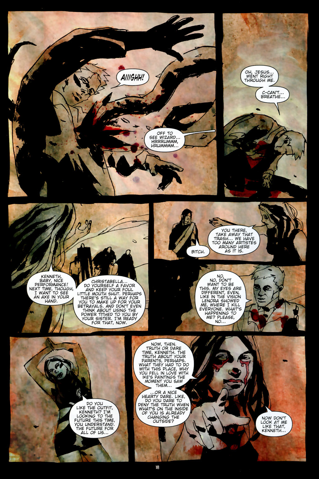 Read online Silent Hill: Dead/Alive comic -  Issue #3 - 20