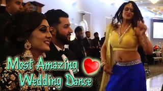 Most Amazing Indian Wedding's Group Dance 2017