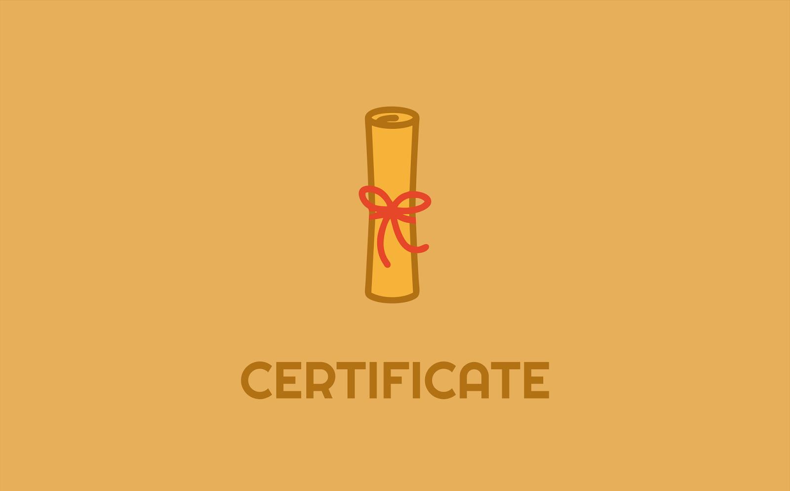 Certificate Logo Idea