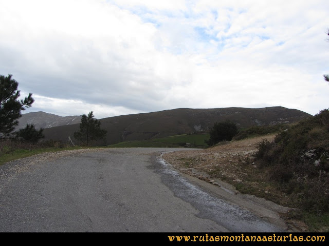 Ruta Alto Aristebano, Estoupo, Capiella Martín: Inicio de la ruta