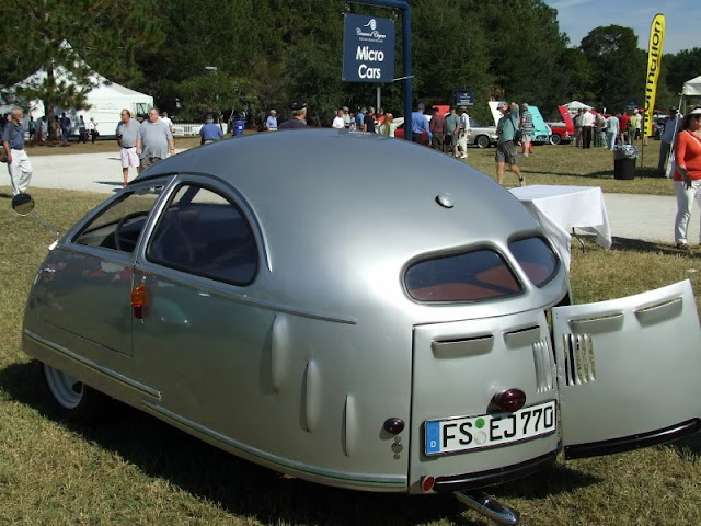 1951 Hoffman at 2012 Hilton Head Concours courtesy as shown in The Motoring Journal