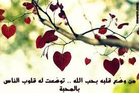 حكم عن الحب في الله