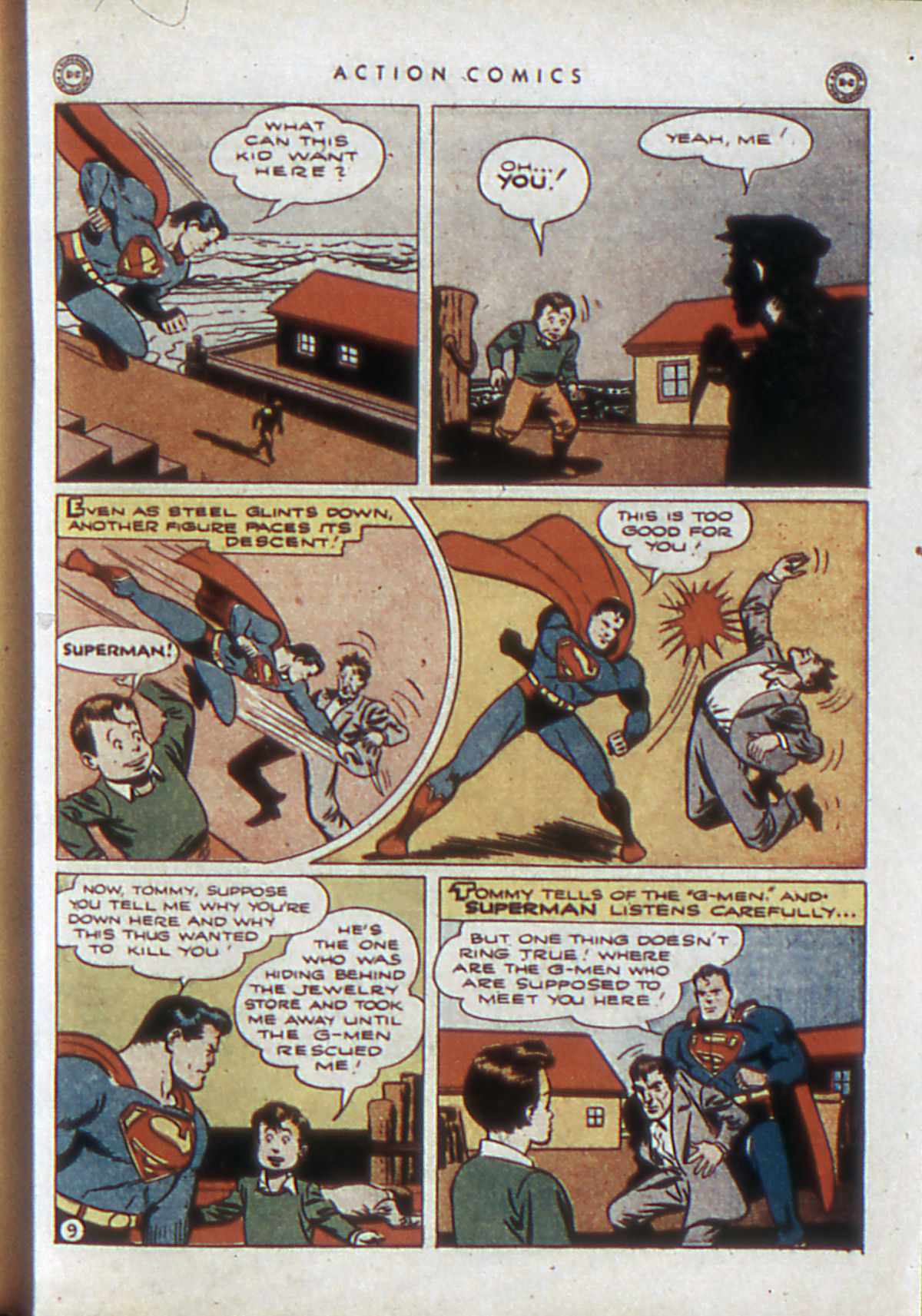 Read online Action Comics (1938) comic -  Issue #84 - 12