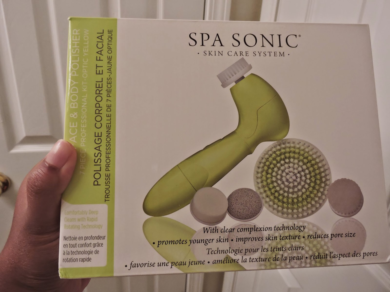 Spa Sonic Skin Care System Review #SpaSonic via www.Productreviewmom.com