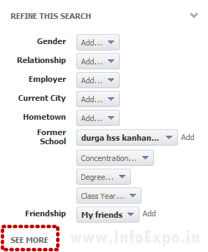 How to use Facebook Graph Search -- www.infoexpo.in