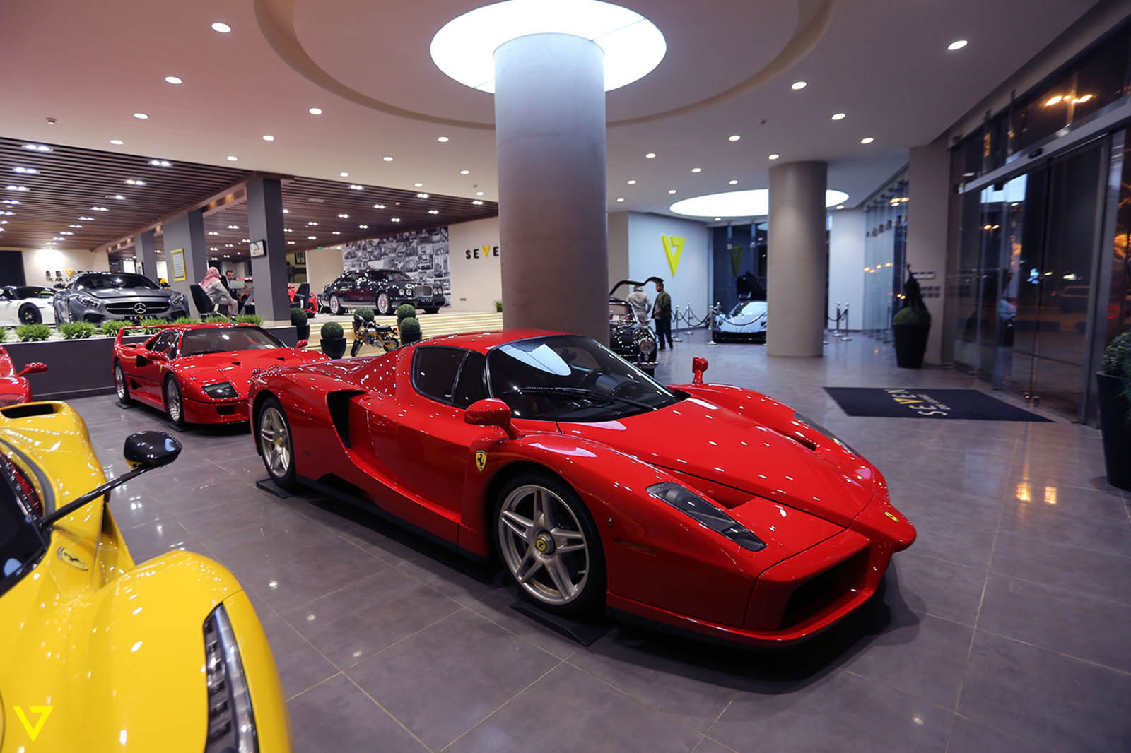 saudi dealership has all four of ferrari 39 s flagship. Cars Review. Best American Auto & Cars Review