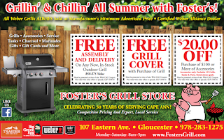 foster's grill store Cape Ann Coups Ad