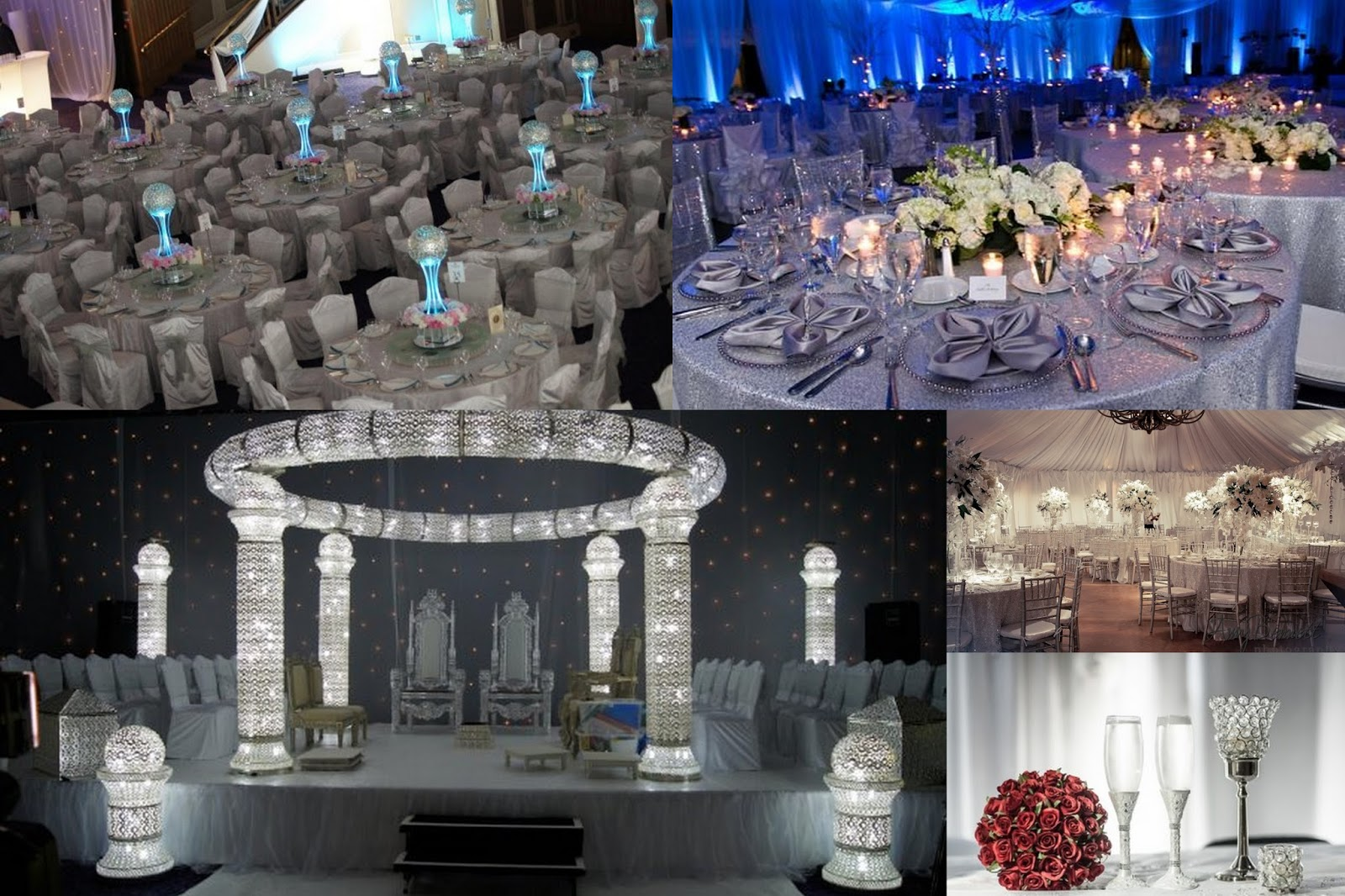 Things Which Are Important In A Wedding Platinum Theme Wedding