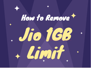 How to Bypass Jio 1 GB Daily Data Limit (4 Tricks)