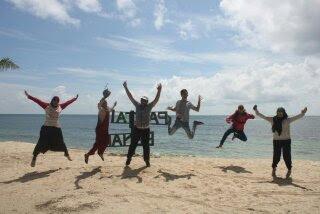 Wisata bahari di Pulau Benan