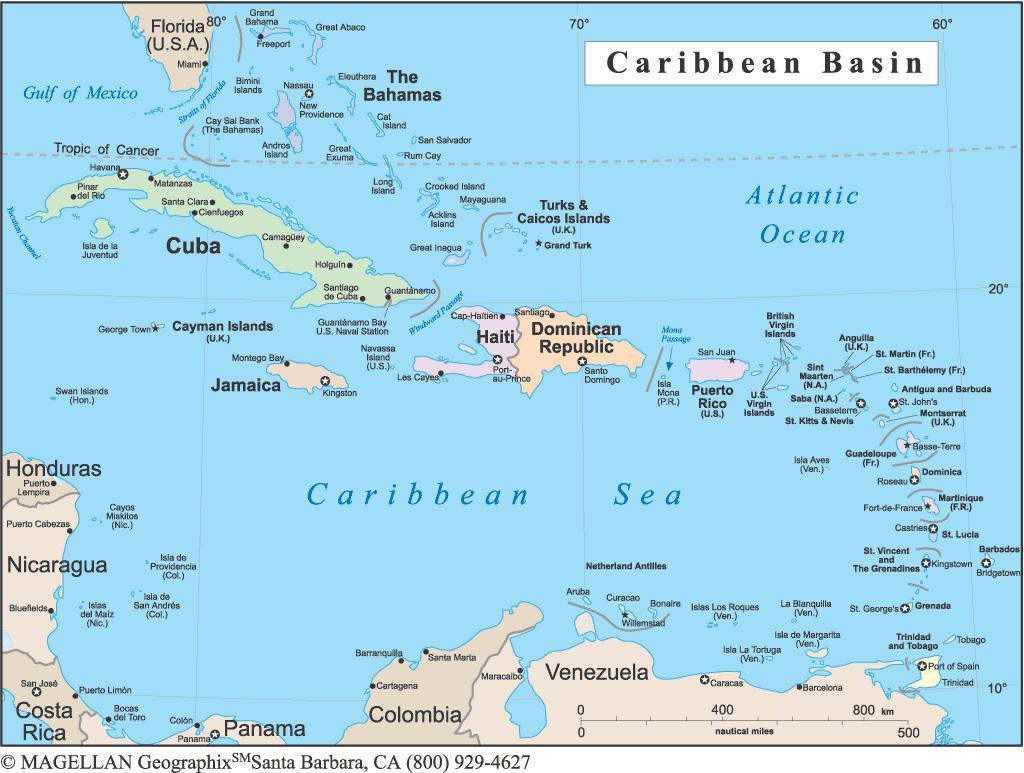 100 Grand Cayman Map Map Of The Caribbean Region Cayman