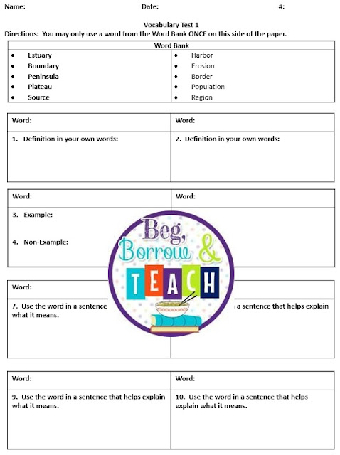 No-Tech Ways to Teach and Assess Vocabulary in Core Subjects: Assessment