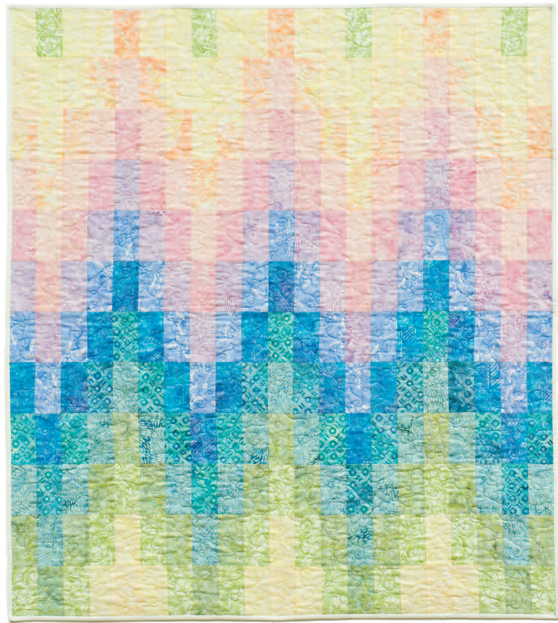 Twisted Bargello Quilt Pattern Free Best Decoration